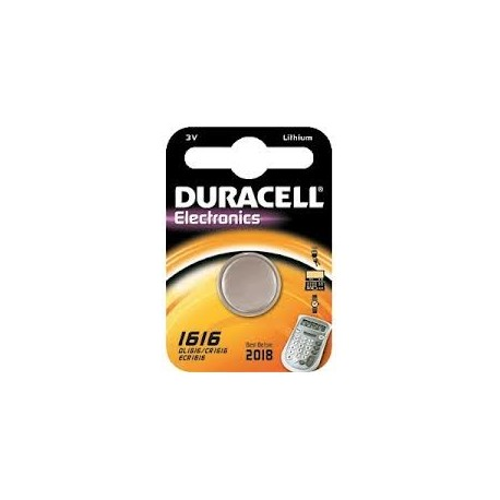 Pila CR 1616 DURACELL ELECTRONICS