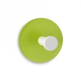 Colgador adhesivo verde