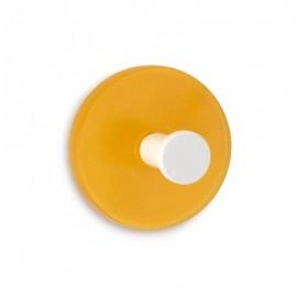 Colgador adhesivo naranja