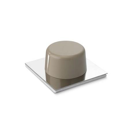 Topall de porta adhesiu beige