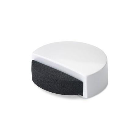 Topall de porta adhesiu silenciós blanc