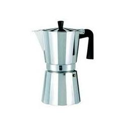 Cafetera aluminio Oroley New Vitro 3 tazas