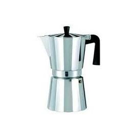 Cafetera aluminio Oroley New Vitro 6 tazas