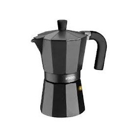 Cafetera Alumini Monix Vitro Noir 9 Tasses