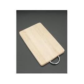 Tabla de cortar de madera 22x33