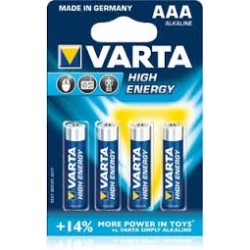 High Energy VARTA AAA