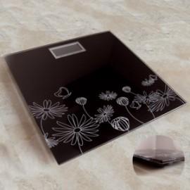 Bàscula de lavabo amb flors