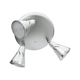 Plafón led orientable 3x5W