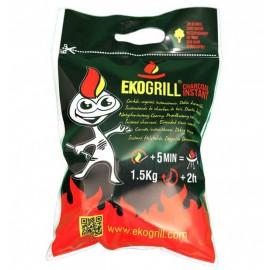 EKOGRILL carbó vegetal instantani