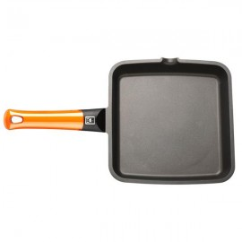 Grill liso BRA EFFICIENT ORANGE 28X28CM