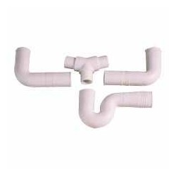 Sifo doble flexible 3 peces PVC