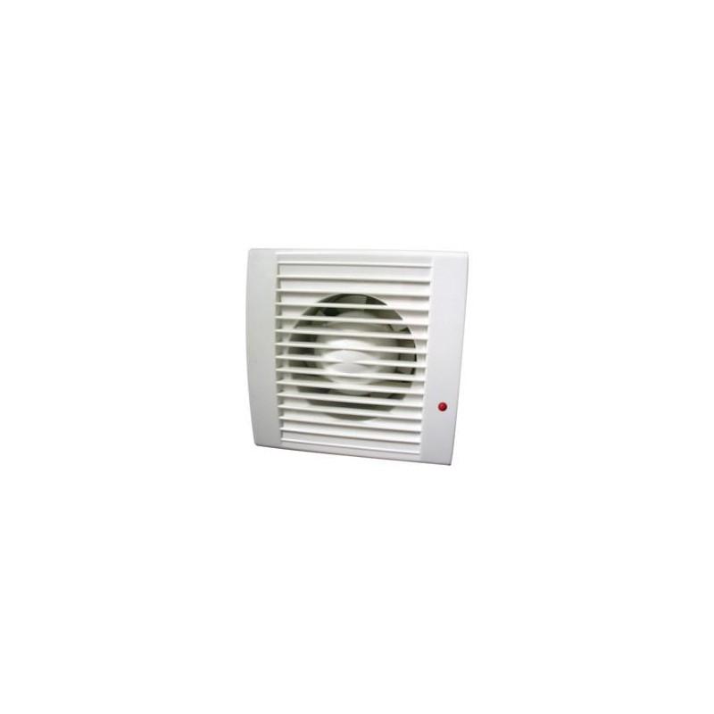 Extractor Ventilador Baño:Extractor,ventilador 15 W, 230V, 43 dB Diámetro taladro: 105 mm