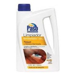 Limpiador Abrillantador PASO para Parquet y Madera Barnizada