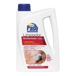 Limpiador Abrillantador PASO para Laminados y Suelos Sintèticos