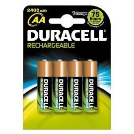 Paquet 4 piles LR6/AA DURACELL RECHARGEABLE ACCU SUPREME